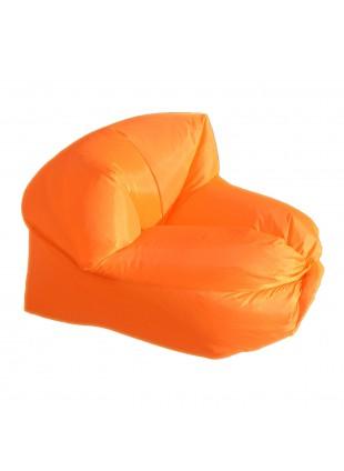 Poltrona Sacco Smart Gonfiabile ad Aria Autogonfiante Campeggio Arancione