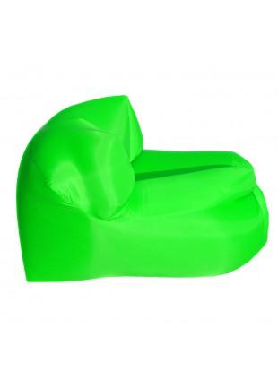 Poltrona Sacco Smart Gonfiabile ad Aria Autogonfiante Campeggio Verde