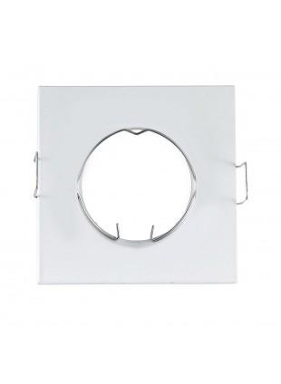 Porta faretto Supporto per faretti Lampade GU10 a led LIFE Bianco 63 mm