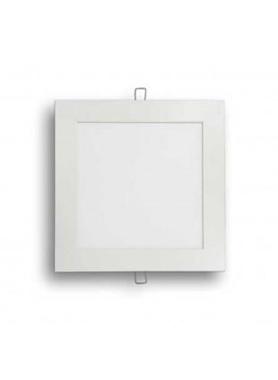 Faretto quadrato a Led classe energetica A 1500lm luce fredda 6000K 225X225X25mm