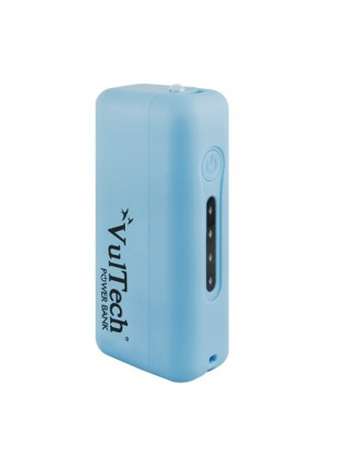 BATTERIA ESTERNA POWER BANK 2600 MAH CARICABATTERIA USB PER TABLET VULTECH BLU
