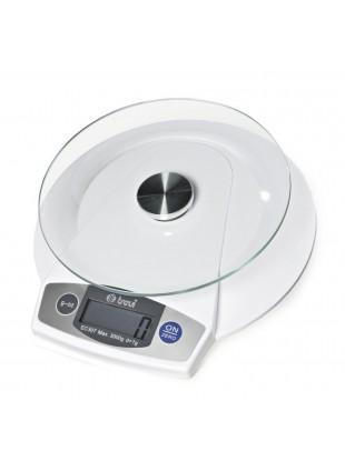 Bilancia cucina elettronica Conchiglia Digitale 5Kg Trevidea Tara Vetro Sensore