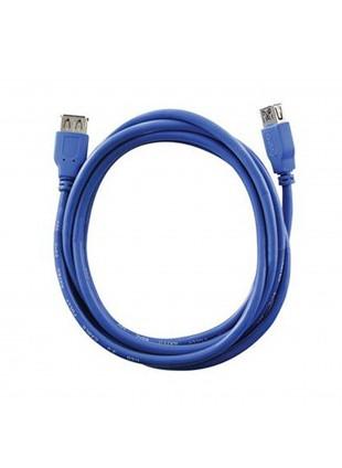 CAVO CAVETTO PROLUNGA USB 3.0 TIPO A FEMMINA DA 2 METRI VULTECH 5 GBPS SC10807