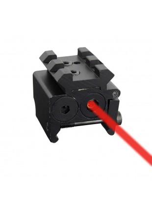 Puntatore laser Rosso di Precione Mirino per Softair Tiro Pistola Fucile