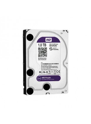 Hard Disk Videosorvegliana SATA III 64 Mb 1000 Gb WD Purple HDD