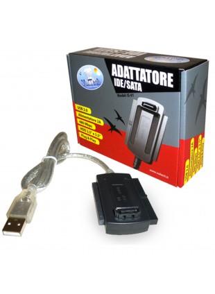 CAVO ADATTATORE CONVERTITORE DA IDE SATA USB PER HARD DISK HDD 2.5' 3.5' VULTECH