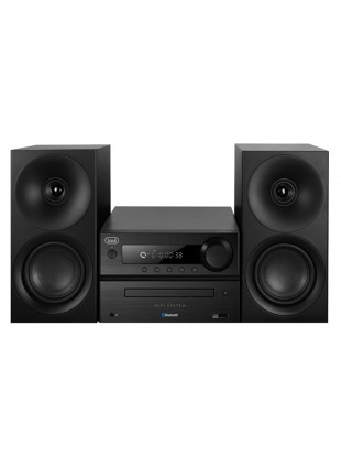 SISTEMA IMPIANTO HI FI HIFI CASSE CD MP3 USB BLUETOOTH HCX 1080 BT NERO TREVI