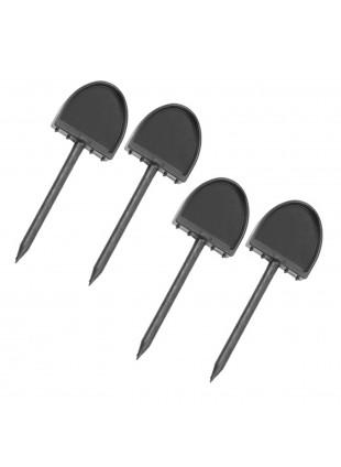 Set 4 Chiodini di Fissaggio per Fogli Bersaglio Pins Target Perfect Line
