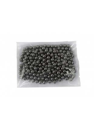 100 Biglie Sfere Pallini per Fionda in Acciaio di Carbonio Lucidate Resistenti