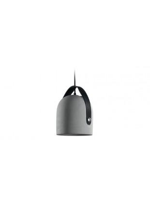 Lampada a sospensione 1XE27 400 lumen Grigio Nero Diametro 30 cm 220-240Vac