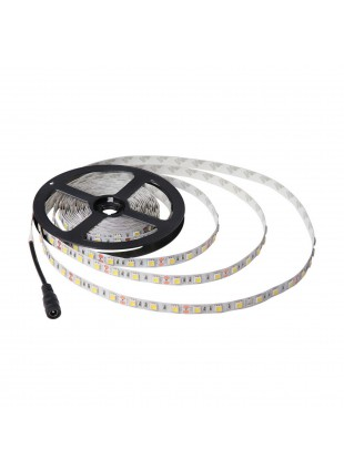Bobina Striscia 300 LED SMD 5050 5 Metri LIFE Luce Bianca Fredda 4500 Lumen Auto