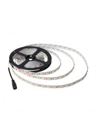 Bobina Striscia 300 LED SMD 5050 5 Metri LIFE Luce Bianca Calda 4500 Lumen Auto
