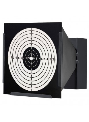 Porta Bersaglio Conico in Metallo Aria Compressa Raccoglit Pallini 14 cm