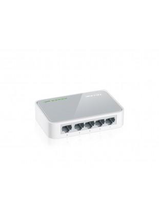 Switch Desktop a 5 Porte RJ45 10/100 Mbps con auto-negoziazione Guscio Plastica