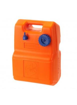 Bidone Serbatoio Benzina Tanica Carburante 29 Lt Litri Orizzontale Omologata