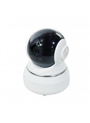 Telecamera Videosorveglianza Bianca Nera 1.0 Mpx Lunghezza Focale 3,6 mm 4 Led