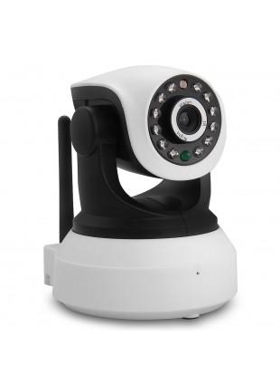 Telecamera motorizzata IP mini 720P WIFI led audio Life Micro SD Wireless