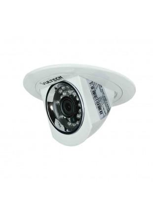 Telecamera Videosorveglianza Mimetizzata a Faretto da Incasso AHD 960P VULTECH