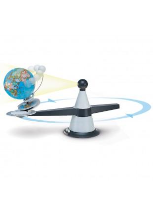 MAPPAMONDO GLOBO TELLURIO 16 CM ASTRONOMIA PER SCUOLA NOVA RICO TECNO DIDATTICA
