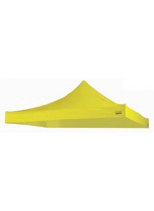 Tetto serie piramide 3x3 giallo Telone Telo copri gazebo Giardino esterno Berto