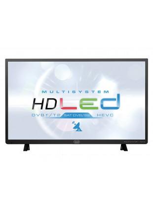 Tv schermo LCD 32 pollici Nera Lettore video mp3 jpeg txt con Satellitare Trevi