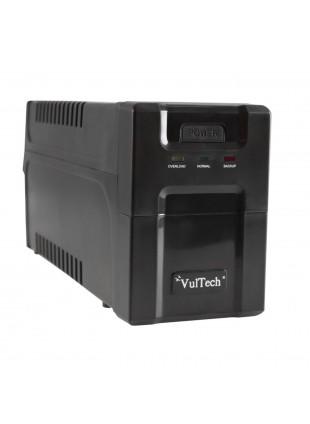 Gruppo di continuità UPS 700 VA 430 Watt W VULTECH 2 Prese Uscite per Computer