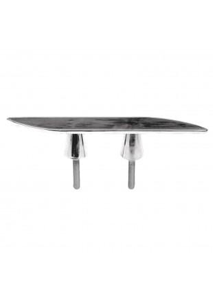Bitta Inox Con altezza 50 mm Lucido Per attracco Vela Ormeggio Galloccia Nautico