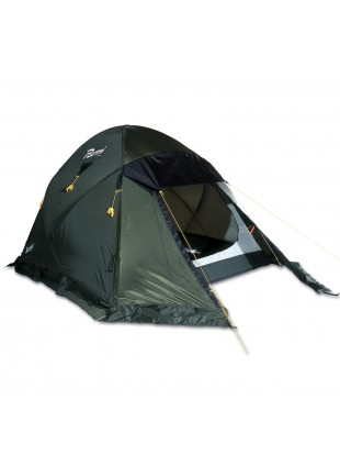 Tenda Giardino Camping Esterno 215x145cm Verde Berto Tipo Igloo Basecamp 2 Posto