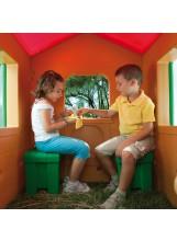 Casetta per bambini bambino da esterno chicco chalet mondo for Casetta chicco villa